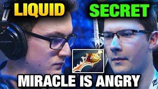 Liquid vs Secret - MIRACLE IS CRAZY The International 2017 Main Event Dota 2 [Game 2 bo3]