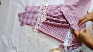 Too inspiring baby frock cutting video for beggners