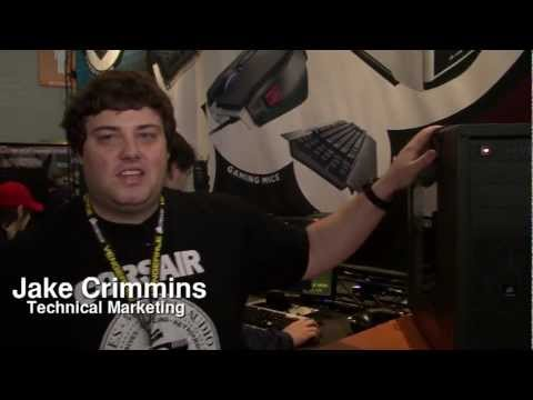 Corsair® Vengeance® C70 Mid-Tower PC Gaming Case Introduction from PAX East 2012