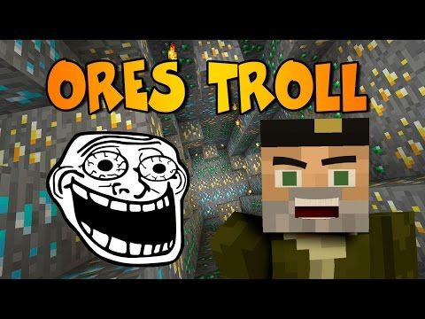 TROLL ORES   ROULETTE ORES MOD   Minecraft Mod Review
