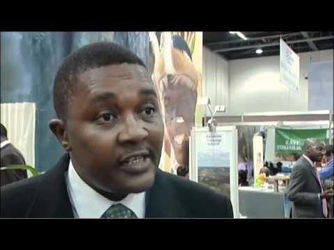 Walter Mzembi (MP) Minister for Tourism & Hospitaity, Zimbabwe @ WTM 2010