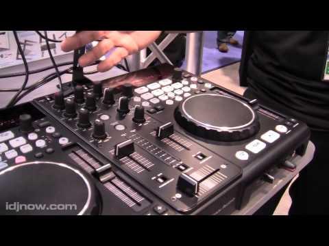 AMERICAN AUDIO VERSADECK 2 DECK MIDI CONTROLLER USB PLAYER AT NAMM 2011 WITH I DJ NOW
