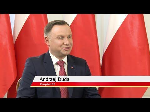 Prezydent Andrzej Duda W Telewizji WPolsce.pl!
