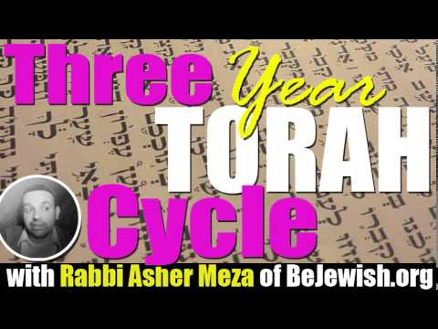 Three year Torah cycle