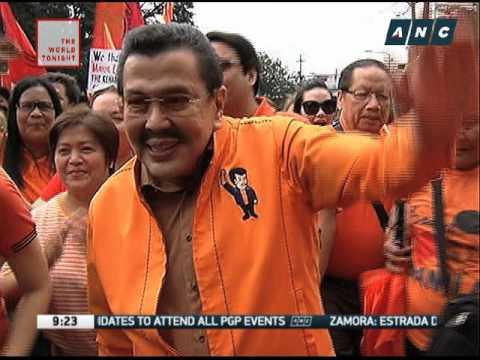 Zamora: Erap wants keep San Juan, Manila
