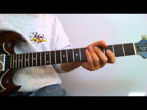 Billy Idol - Dancing with myself intro main riff