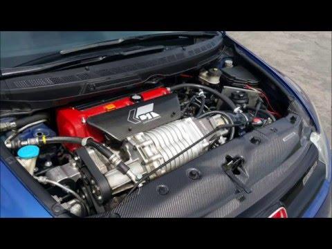 CTe mp62 Supercharged Honda Civic Mugen si Dyno tune