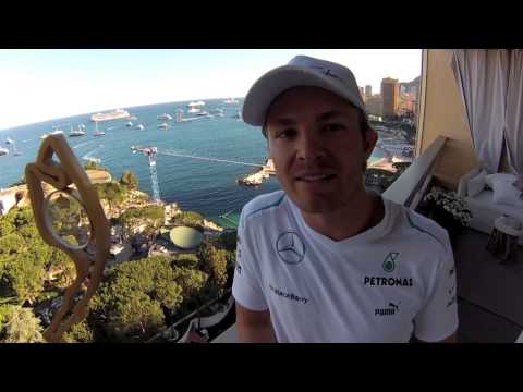 Nico Rosberg: video message after winning the Monaco GP 2013