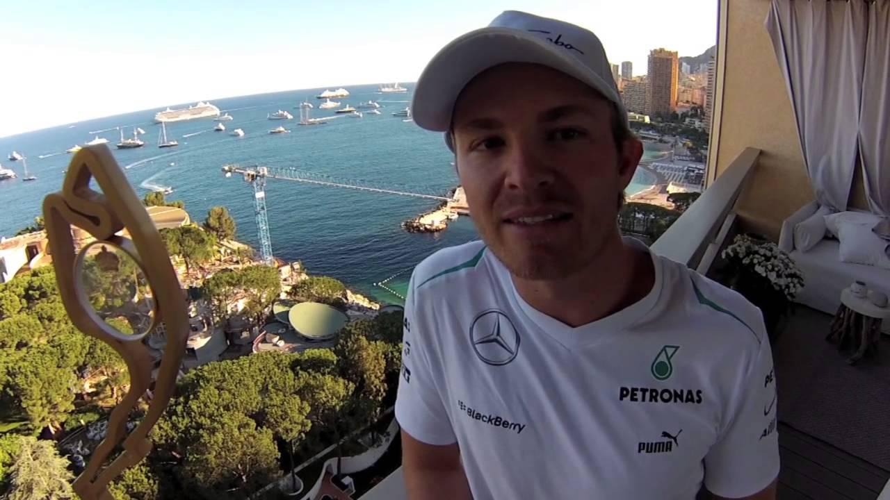 Nico Rosberg Video Message After Winning The Monaco GP