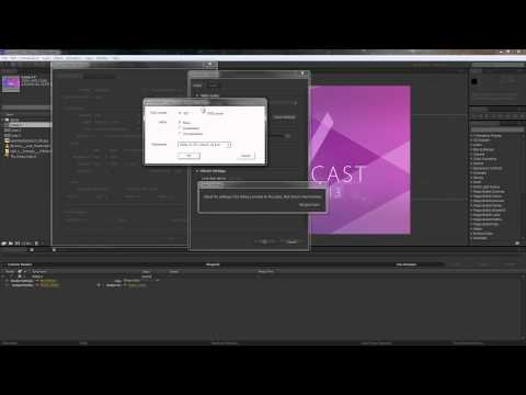 Exporting from After Effects to Premiere Pro