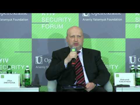 Oleksandr TURCHYNOV. 8th Kyiv Security Forum
