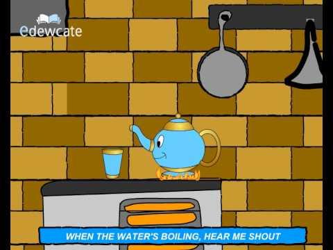 Edewcate english rhymes – I'm a little teapot