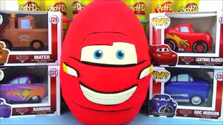 Disney Cars Toys Surprise Egg with POP! Lightning McQueen