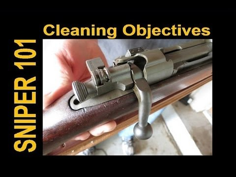 SNIPER 101 Part 41 - Rifle Cleaning Objectives for ELR Precision Shooters - 4 MAIN POINTS