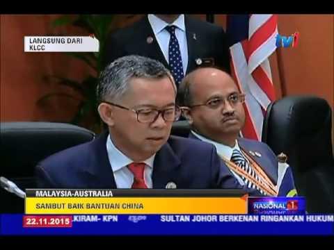 SIDANG KEMUNCAK ASEAN KE-27 - LAPORAN LANGSUNG DARI KLCC 1 TGH [22 NOV 2015]