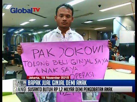 Susanto, Bapak Jual Ginjal Ke Presiden Demi Anak, Tiba Di Jakarta - BIS 20/11