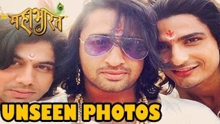 UNSEEN Behind the Scene PHOTOS from Star Plus Mahabharat 16th May 2014 -- EXCLUSIVE