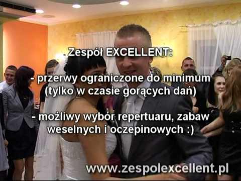 Początek Wesela - Pierwszy + Drugi Taniec - Zespół Weselny EXCELLENT Www.udaneweselicho.pl