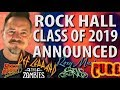 Def Leppard, Radiohead, Stevie Nicks, Zombies, Roxy Music, The Cure In Rock Hall Class Of 2019