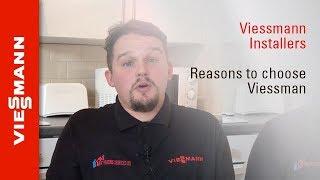 Hamid Fard and Matt Saunders from A Plus Heating Services – three reasons to choose Viessmann