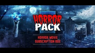 Horror Blu Ray Unboxing September 2018