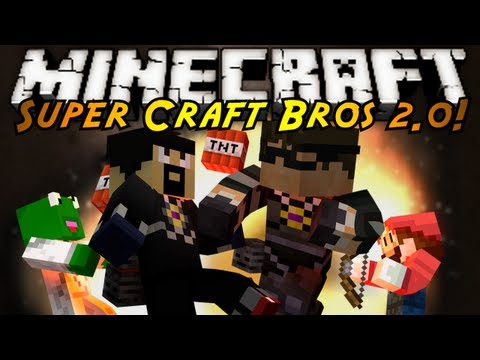 Minecraft Mini-Game : SUPER CRAFT BROS BRAWL 2.0!
