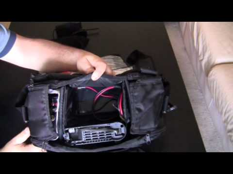 GO-BAG for YAESU radios, PORTABLE SET-UP, EASY TO USE