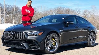 HERE'S WHY THE 2019 MERCEDES AMG GT63 MAY BE THE BEST 4 DOOR COUPE MONEY CAN BUY!