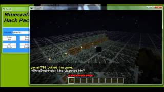 Minecraft Hack Pack! XRAY ! FLYMOD ! OP ! /GIVE ! TAKE DOWN SERVER ! FREE !