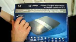 Linksys by Cisco EA4500 App Enabled N900 Wireless Router Unboxing & First Look Linus Tech Tips