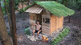 Build Heated House For The Winter By Ancient Skill