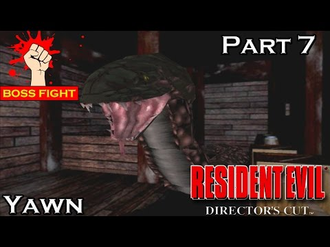Resident Evil Director's Cut - Part 7 - BOSS - Yawn