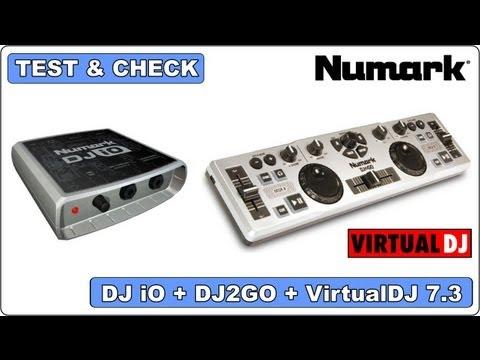 Test & Check - Numark - DJ IO + DJ2GO + VirtualDJ 7.3