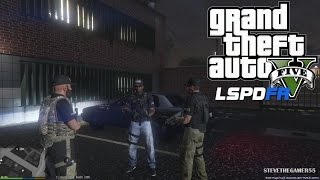 GTA 5 - LSPDFR - EPiSODE 28 - LET'S BE COPS - GANG UNIT (GTA 5 PC POLICE MODS)