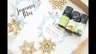 Unboxing Happiness Maker - Box huiles essentielles d'hiver