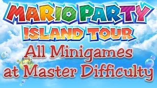 Mario Party: Island Tour - All Minigames (Master Difficulty)