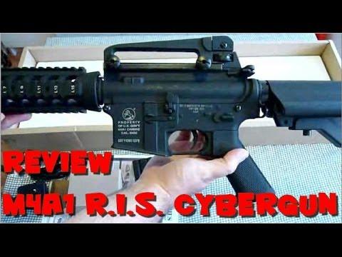 [AIRSOFT] Review N°2 [FR] - Réplique M4A1 R.I.S. Full Metal (CYBERGUN)