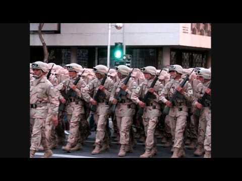 media parada militar chile completo