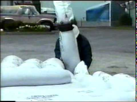 250ft Long Sandbags in 90 Seconds!