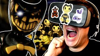 BENDY IN VR... IS SO MUCH WORSE!   Bendy and The Ink Machine in Virtual Reality