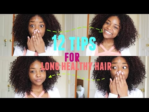 HOW TO GROW LONG CURLY HAIR   12 TIPS