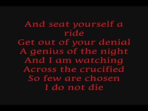 rob zombie - in the hands of death burn baby burn (lyrics)