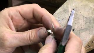 second time handmade gold pendant whit emerald and diamond seconda parte