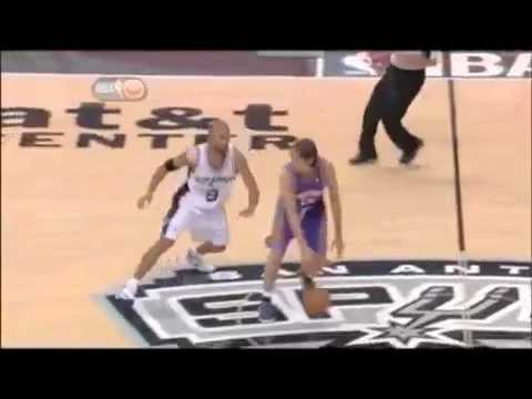 Steve Nash with One Eye vs. Spurs (Full)