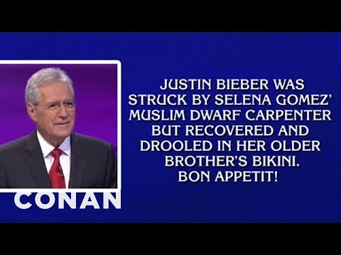 Alex Trebek Has Gone Insane
