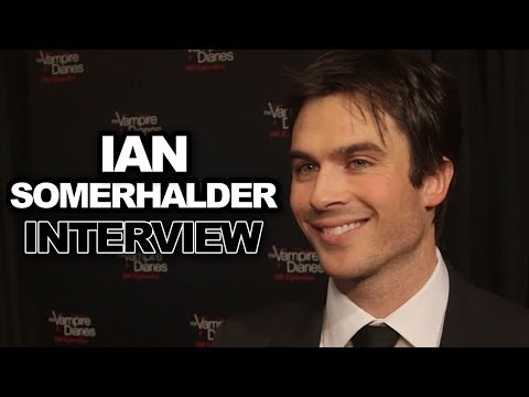 Ian Somerhalder's Fave Sexy TVD Scene & Dating Advice for Damon