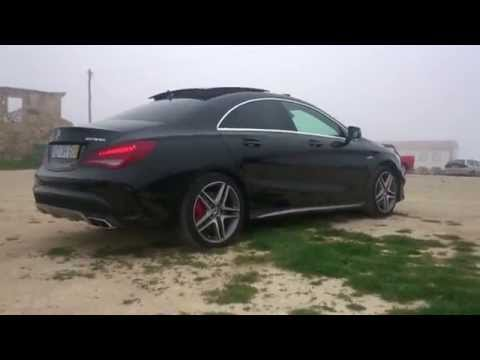 Cla 45 Amg Start Up And Hard Reving