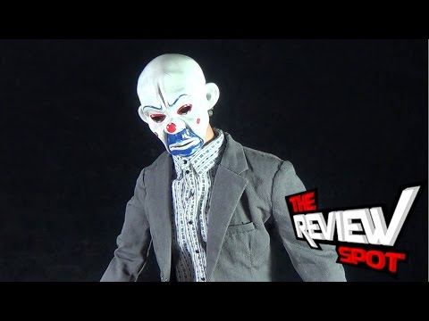 Collectible Spot - Hot Toys The Dark Knight The Joker (Bank Robber Version 2.0) Sixth Scale Figure