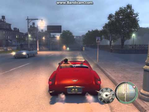 Mafia 2 - Driving with the top down