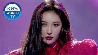 Sunmi Seulgi Daehwi Heroine 선미 슬기 대휘 주인공 2018 Kbs Song Festival 2018 12 28
